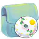 Folder DVD icon
