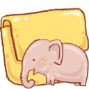 Hp folder elephant icon
