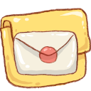 Hp folder mail icon