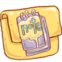 Hp folder note icon