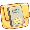 Hp folder notebook icon