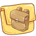 hp folder schoolbag icon