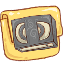 hp folder video icon