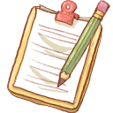 Hp notepad2 pencil icon