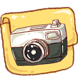 Hp folder camera photo icon