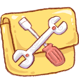 hp folder customize icon