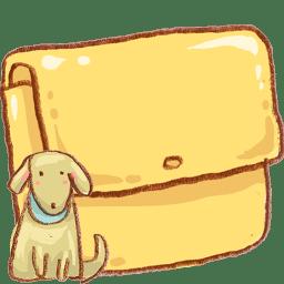 hp folder dog icon