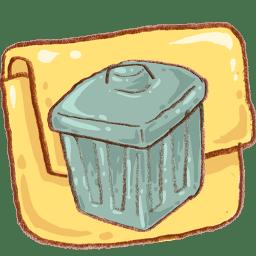 hp folder junkfolder icon