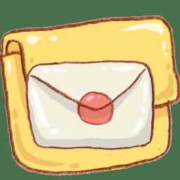 hp folder mail icon