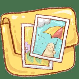 Hp folder photo icon