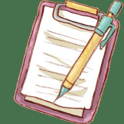 Hp notepad mechapencil icon