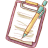 Hp-notepad-mechapencil icon