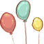 hp balloons icon