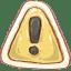 Hp-caution icon