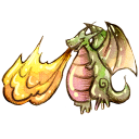 http://icons.iconarchive.com/icons/raindropmemory/legendora/128/Fire-Dragon-icon.png