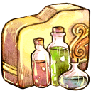 Folder-art-of-chemistry icon