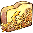 folder ele thunder icon