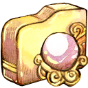 Folder-orb-whitemagic icon