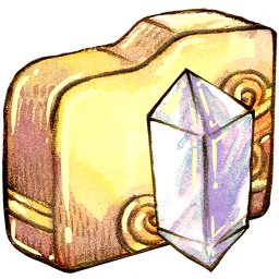 folder crystal icon