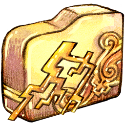 Folder ele thunder icon