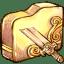 Folder-brokensword icon