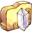 Folder-crystal icon