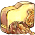 Folder-gold icon