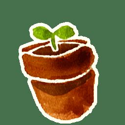 RecycleBin 1 empty icon