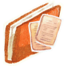 Red-documents icon