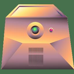 Server gold icon