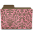 folder damask rosey icon