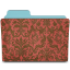 Folder-damask-crimson icon