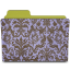 Folder-damask-hyacinth icon