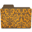 Folder-damask-tangeriny icon