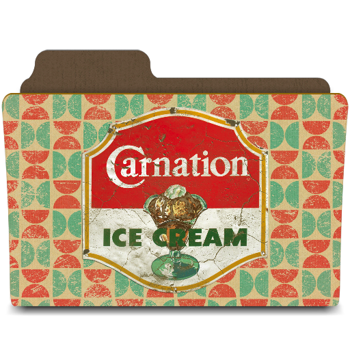 carnation ice cream you scream icon