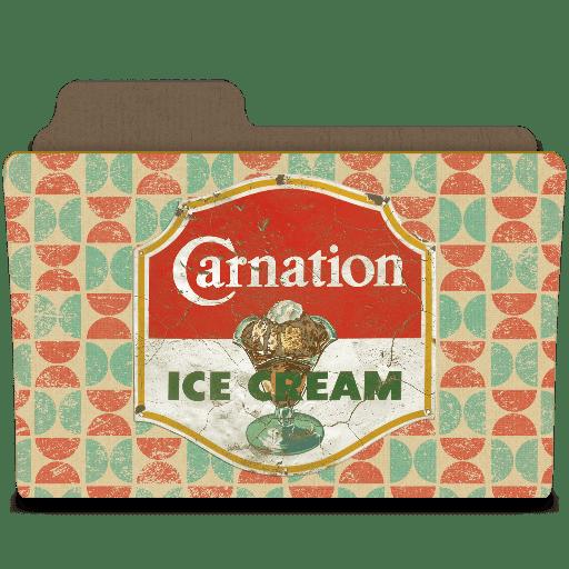 Carnation ice cream you scream icon