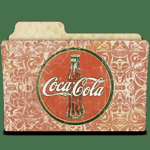 Drink coca cola icon