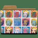 Warhol marilyns icon