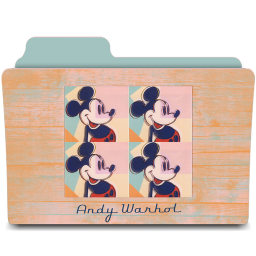 warhol four mickeys icon
