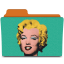 warhol marilyn icon