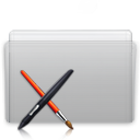 Folder App Graphite icon