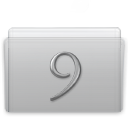 Folder Classic Graphite icon