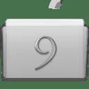 Folder Classic Graphite icon