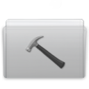 Folder Developer Graphite icon