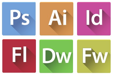 Flats Adobe CS6 Icons
