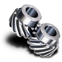 Helical-gear icon
