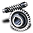 Worm-gear icon