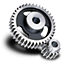 spur gear icon