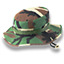 Hat camo icon