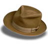 Hat-suede-fedora icon